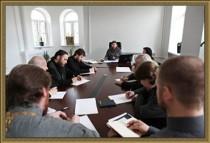 В Архангельской епархии прошло первое заседание Епархиального совета
